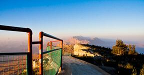 Gorakh Hill, Highest mountain in Sindh reachable by road.