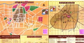 Bahawalpur City Map.