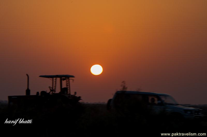 Beautiful Sunset in Sindh.