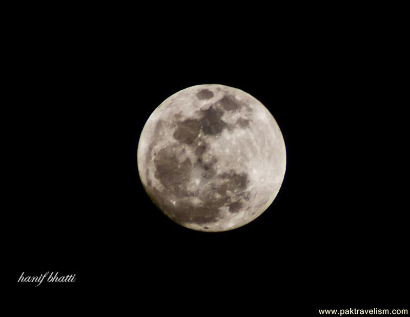 SuperMoon - 7:43PM, 5th May 2012