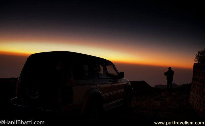 Sunset Gorakh Hill