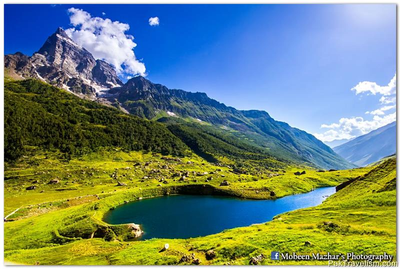 Shounter Lake - Shounter Valley, Azad Jammu and Kashmir, Pakistan