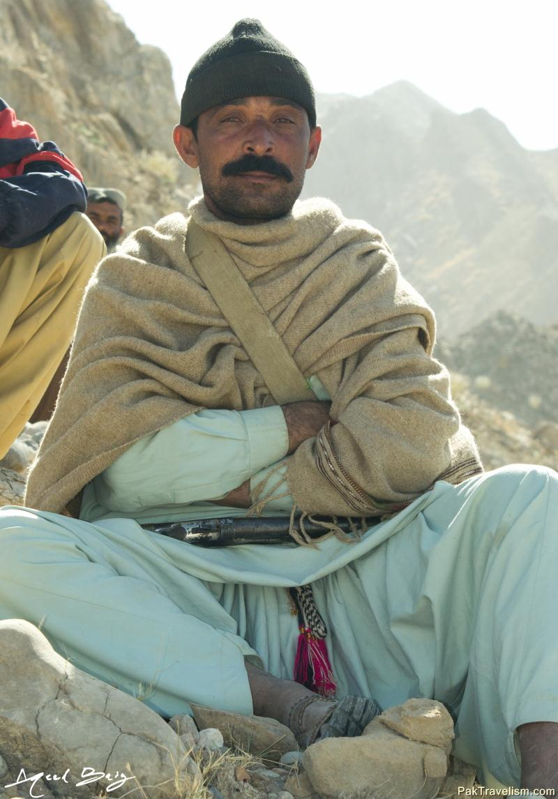 balochi People at Jhal Magsi